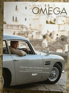 No-Time-To-Die-Omega-Magazine-Dedicated-To-The-New-James-Bond-Movie-RARE