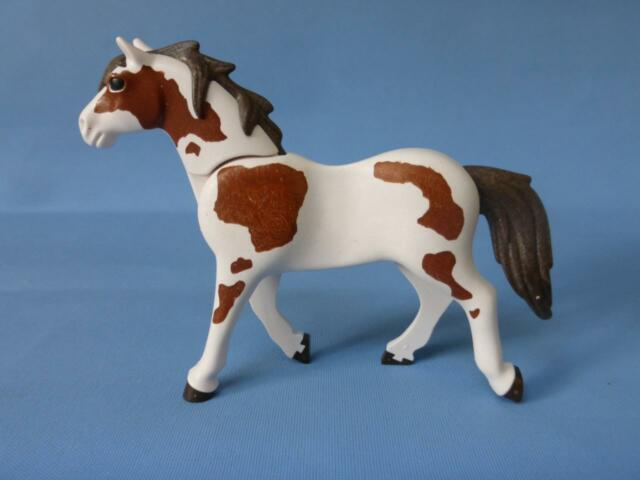 Playmobil Piebald Horse for farm stable country animal