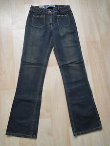 NEU-Cross-Damen-Jeans-Hose-Gr-W28-L34-dark-blue-Jeanshose