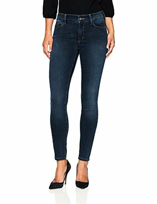NYDJ Womens Collection Petite SZ Ami Super Skinny Jeans in Future