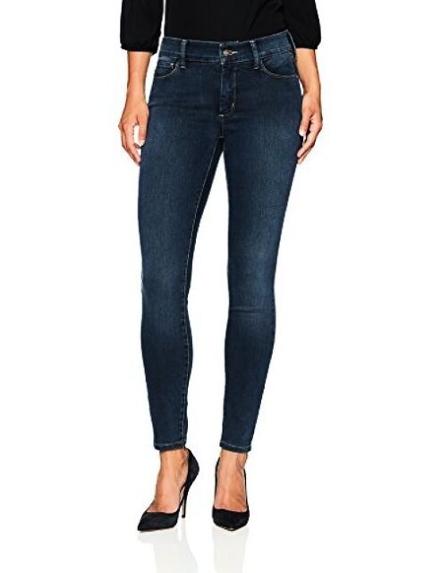 NYDJ Womens Plus Size Ami Super Skinny Jeans In Future Fit
