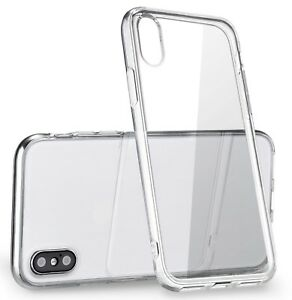Clear-Thin-TPU-Case-For-iPhone-X-XS-Transparent-Bumper-Gel-iPhone-10-10S-Cover