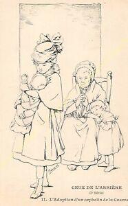 CPA Illustrator Maryel Circa 1914 1918 Series 3 n11