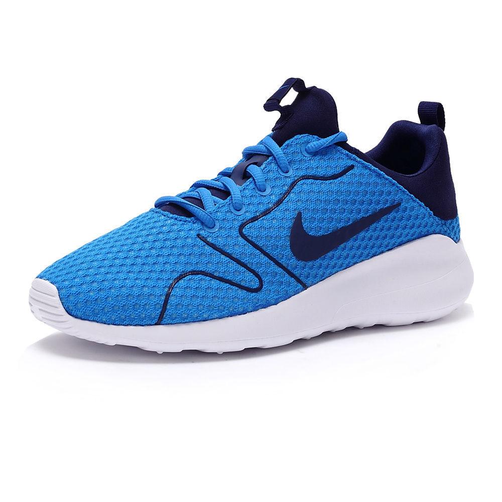 Nike Kaishi Zapatos 2.0 Grande Volados Moda Zapatos Kaishi  de foto azul/blanco Tallas 812 Nuevo En Caja 2b00b0