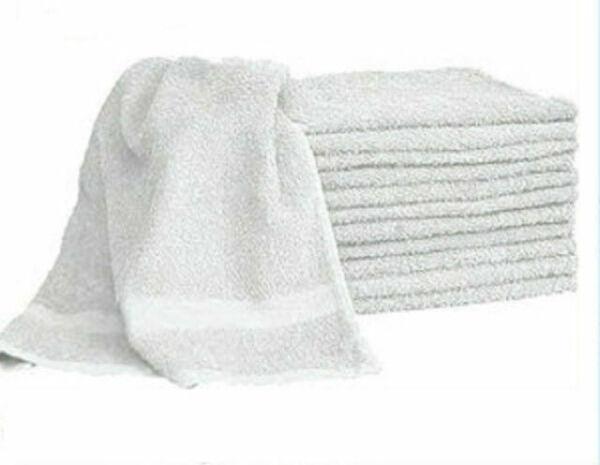 12  Dozen Economy Bath Towels Size 22 x 44 Inches