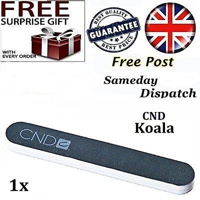 Creative CND Koala Nail File Buffer 240/1200 4 Shellac Gel Acrylic False Tips