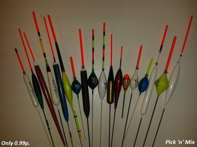 RIZOV pole FISHING floats - with NEW floats BOX over 9 pieces and FREE delivery