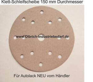 Indasa 10x 125mm 9Loch P180  8+1H Festo Lochung  Schleifscheibe Klett Scheiben