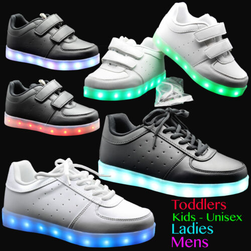 Neuf Garçons Nourrissons Enfants Sangle Parti formelle de retour à l/'école Chaussures Baskets Pointure
