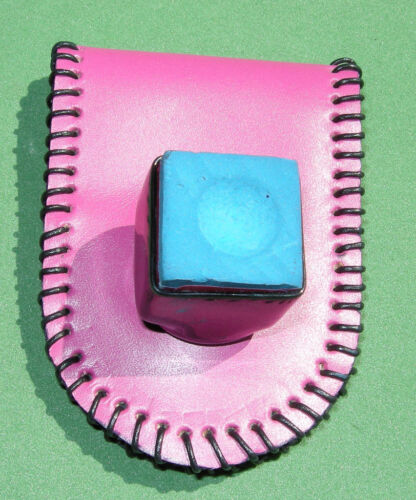 """MAGNETIC PINK Pool Cue Chalk Holder /""""SUPER/"""" Made with SUPERIOR magnets #7062 1"""