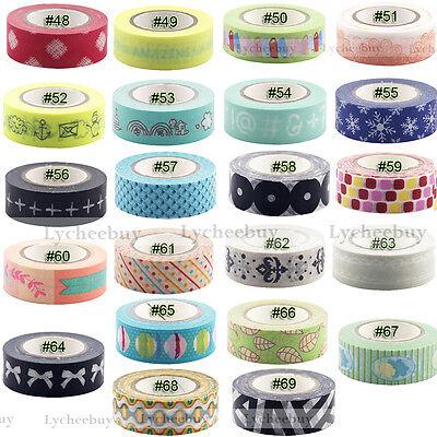 Cute Pattern Symbol Washi Tape Scrapbooking Stickers Decorative Tape New Style