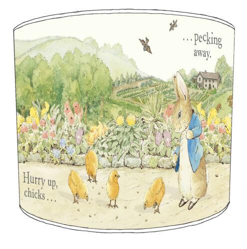 Ideal To Match Beatrix Potter Curtains Children`s Beatrix Potter Lampshades