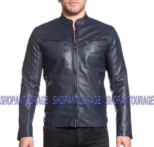 Affliction pour hommes veste manches nouvelle Moto Indigo Liberty longues à les 110ow298 XnwkN0P8OZ