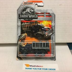 MATCHBOX JURASSIC WORLD ARMORED ACTION TRANSPORTER NEW ON CARD