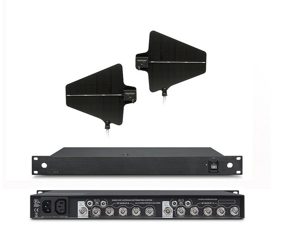 Antenna Power Distribution System 470-900 MHz For SHURE PGX Wireless System