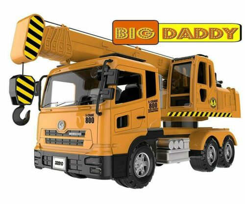 Big Daddy Extra Large Crane Truck Extendable Arms /& Lever to Lift Crane Arm