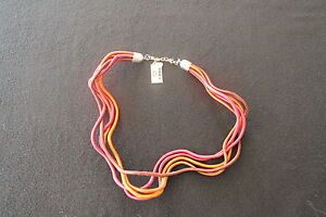 NECKLACE-GALVANIZED-STEEL-RRP-100-60-OFF