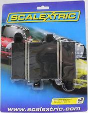 NEW MAC... Greenhills Scalextric Sport Half Straight Borders x 4 175mm C8223