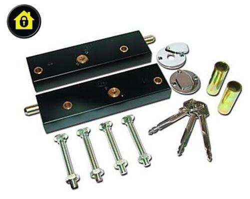 garagentor bolzen schl sser f r extra sicherheit ein paar betrieben auf same ebay. Black Bedroom Furniture Sets. Home Design Ideas