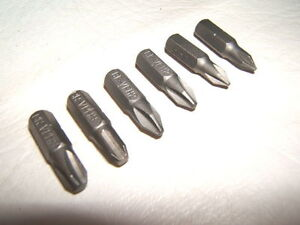 10pcs Chrome Vanadium Cr-v Steel #2 Pilllips Screwdriver Bits 25mm Hex Shank PH2