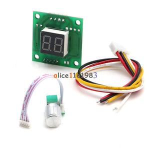 DC 6-28V Motor Speed Control Controller PWM Adjust Speed Switch Digital Display