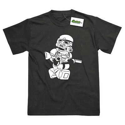 STAR WARS INSPIRED STORMTROOPER PRINTED FUNNY T-SHIRT