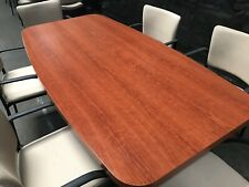 6x3 Small Conference Table With 6 Chairs