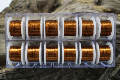 Fliegenbindematerial  Kupferdraht 0.3 mm Fliegenfischen