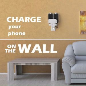 Image Is Loading Switcharger Multi Device Wall Mounted Charging Station Organizer
