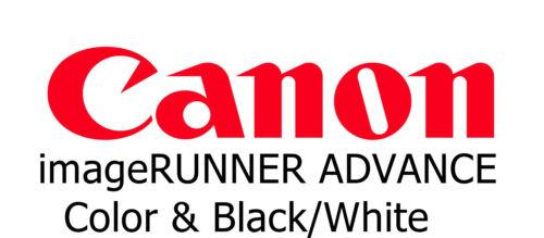 Office guides catalogs DVDs Canon imageRUNNER ADVANCE Copier ...