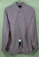 MSRP $89.5 Polo Ralph Lauren Men/'s Plaid Oxford Shirt Size M Green//Pink