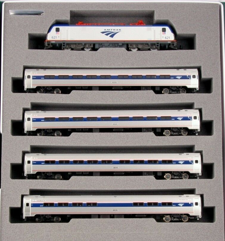 Scala N - Kato Set ACS-64 Set Locomotiva + 3 Vagone 106-8001 Neu