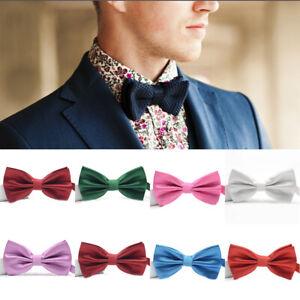 Men-Tie-Bow-Ties-Pretied-Adjustable-Bowties-Necktie-Wedding-Party-Tuxedo-Acces