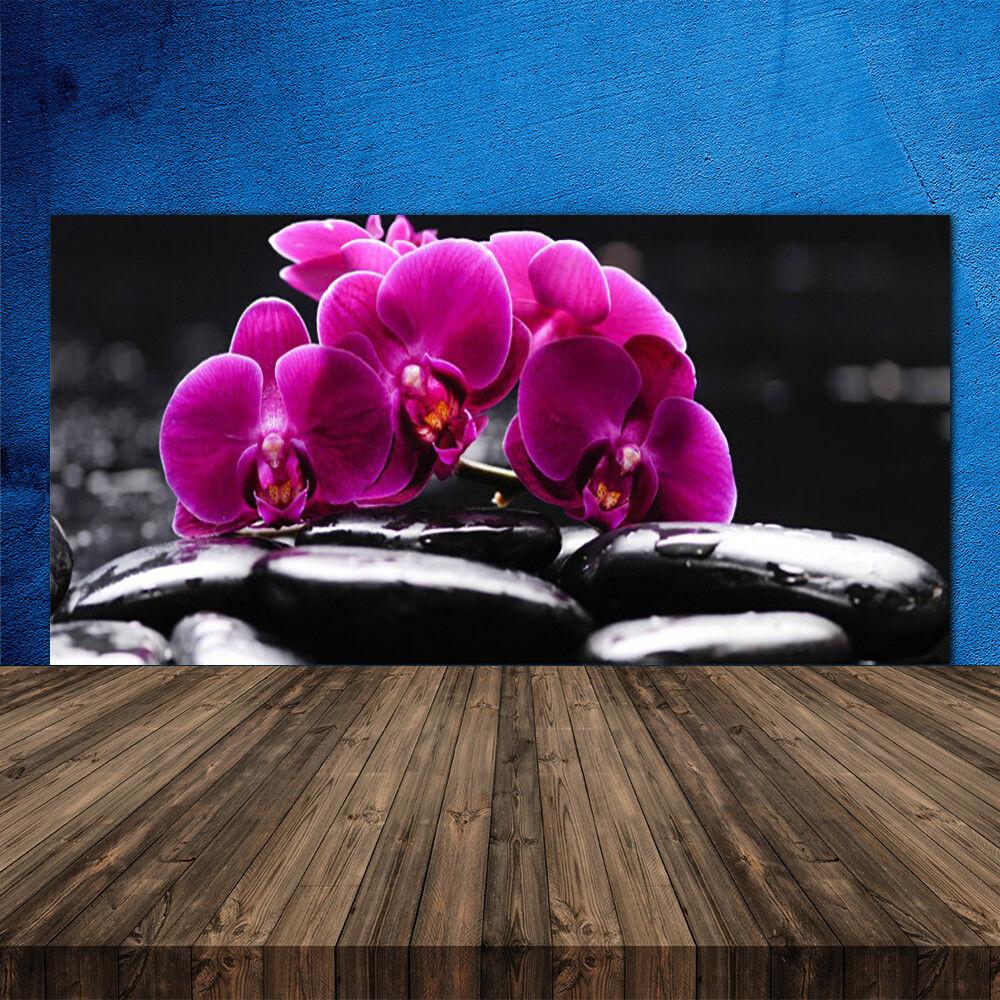 crédence de cuisine en verre floral panneau 120x60 floral verre
