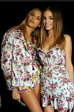 Genuine Runway Dolce&Gabbana Floral Print Sundress Dress Cotton Size 42 Swing