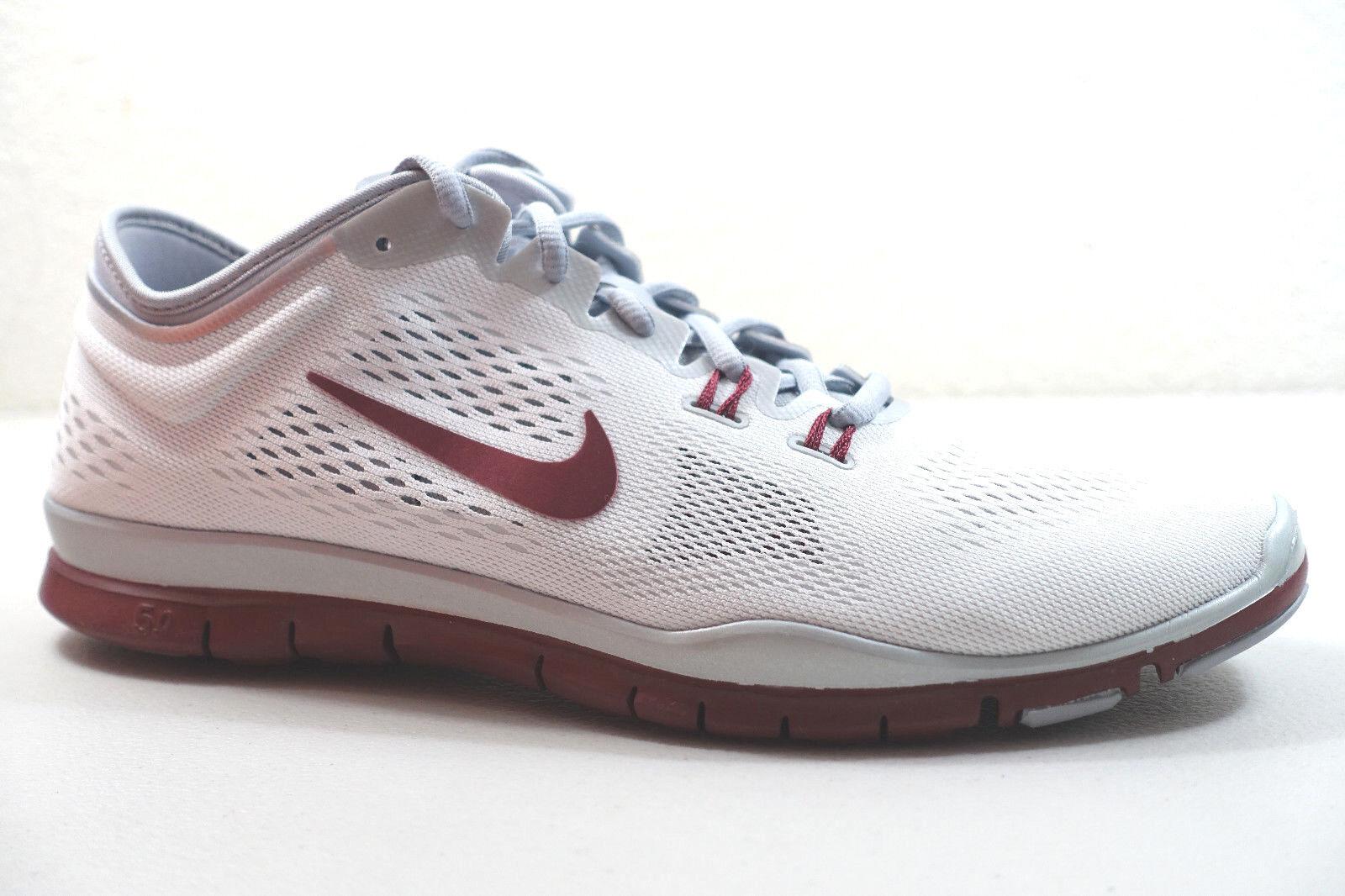 Descuento por tiempo limitado Nike Para Dama 5.0 GRATIS TR FIT 4 Equipo Zapatos Talla 11.5 Blanco Gris Rojo