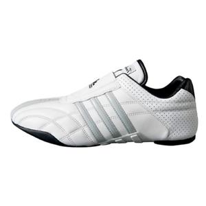Details about Adidas Taekwondo Adilux Men's White w/Gray Stripes Leather Sports Shoes US 10.5