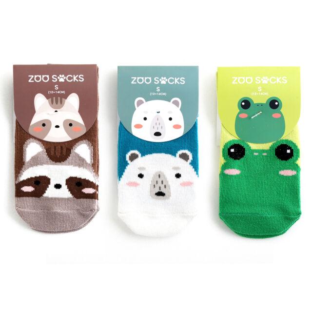"Vaenait Baby Kids Toddler Clothes Non Slip Skid Socks /""Boys Zoo Socks/"" 0M-8T"