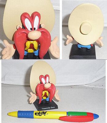 RARE METAL Figure YOSEMITE SAM Looney Tunes ITALIAN Collection MINT NEW