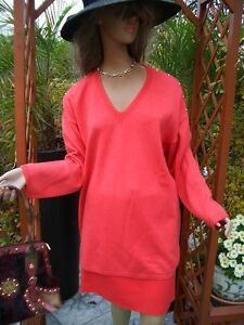 Red Gonna 42 Couture 44 Stretch Knit gonna Red Luxury 46 Np980 Coral Escada RITwP