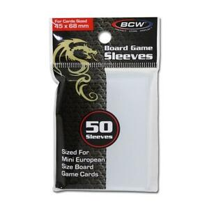 1-Case-6-000-BCW-BOARD-GAME-SLEEVES-45MM-X-68MM-for-Mini-European-Cards