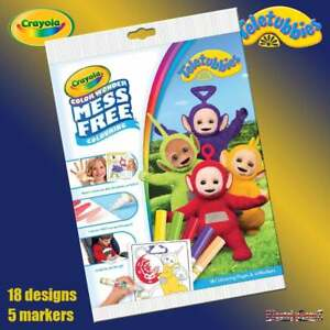Crayola Teletubbies Color Wonder Mess Free Magic Colouring Book ...