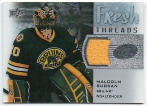 5360be198 2015-16 Upper Deck Ice Fresh Threads Rookie RC GU Pick Any Complete ...