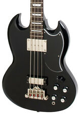 Epiphone EB-3 Electric Bass Guitar, Ebony (NEW)