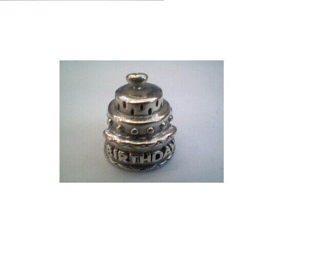 New Truth Sterling Silver Birthday Cake Charm 443480 £30