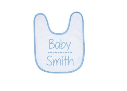 Baby Shower Gift New baby Gift Baby Name Personalised Baby Bib