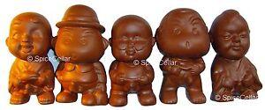 Chinese-Terracotta-Pee-Pee-Boy-Statues-Set-of-Five-Tea-Ceremony
