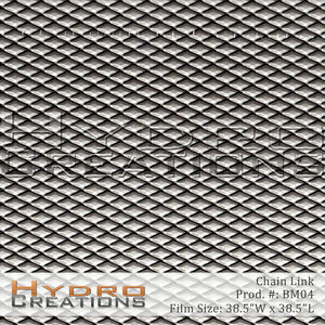 HYDROGRAPHIC FILM FOR HYDRO DIPPING WATER TRANSFER FILM CHAIN LINK