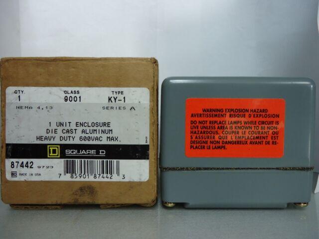 Square D 9001 KY-1 Series A 1 Unit Enclosure