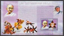 CONGO GANDHI TERESA FLOWERS STAMP MINIATURE SHEET MNH VERY RARE INDIA THEME